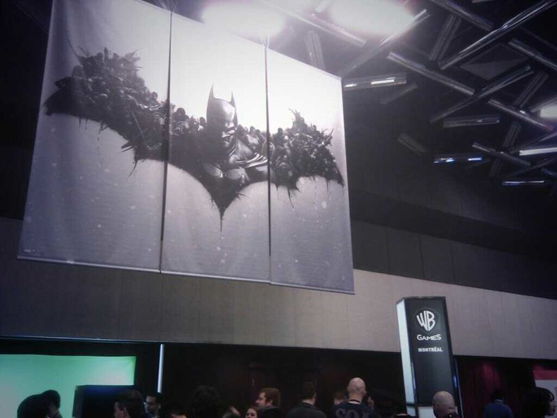 WB Games Booth