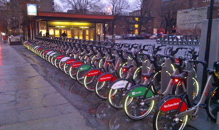 BIXI Station St. Laurent