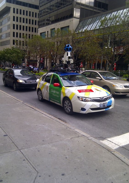 Carro de Google Street View