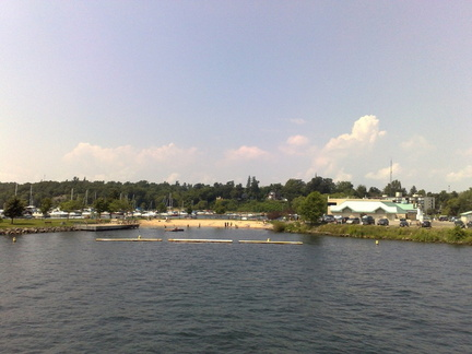 Gananoque beach (playa)