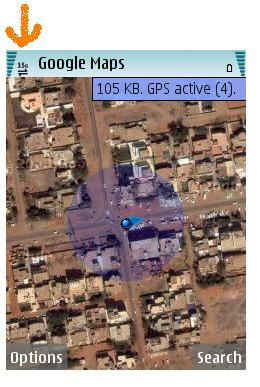 Google Maps Active